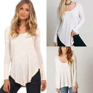 NWT Free People Ventura Thermal Oatmeal